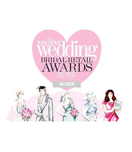 2015 - You & Your Wedding Magazine Awards- 'Best New Bridal Retailer' finalist