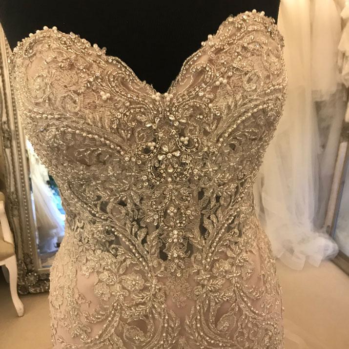 Real Brides Wearing Stella York: Stella York 6541 Wedding Dresses Kent