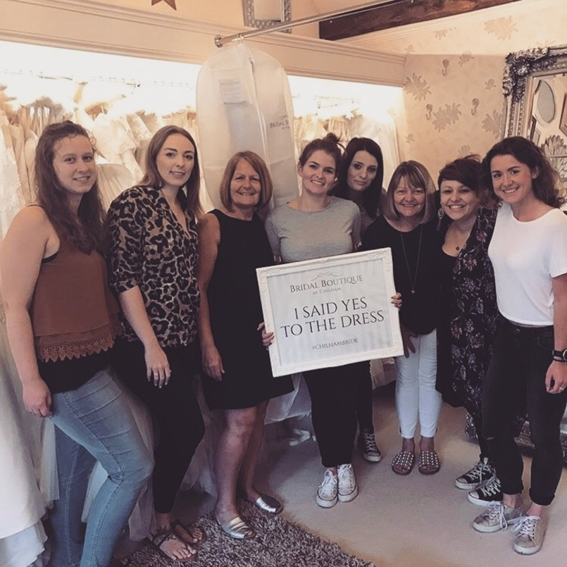 Sustainable wedding dresses at Chilham Bridal boutique in Maidstone