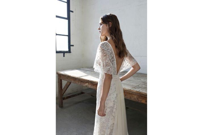 Back-of-ex-sample-Modeca-Bridal-wedding-dress-at-Chilham-Bridal-in-Kent