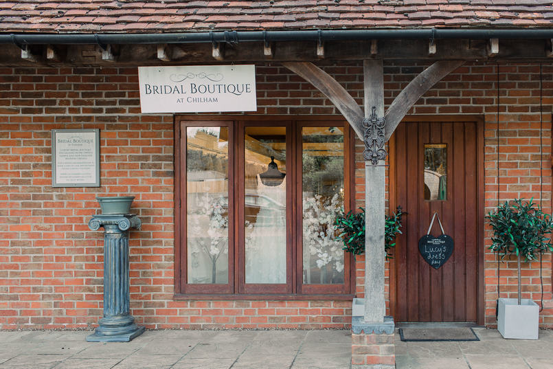 Chilham Bridal barn boutique in Chilham, Kent