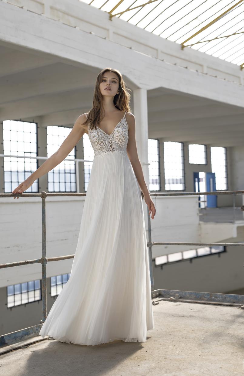 Emily: ex-sample Modeca Bridal wedding dress at Chilham Bridal