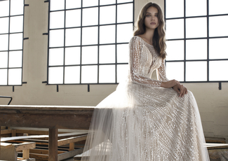 Ex sample wedding dresses by Modeca Bridal